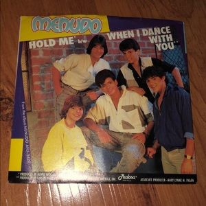 Vintage Menudo 45 single vinyl record
